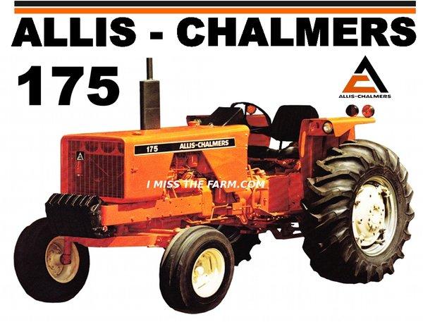 Allis Chalmers 175 : Allis chalmers tee shirt ac