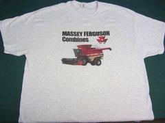 MASSEY FERGUSON COMBINES Tee shirt