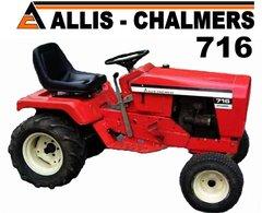 ALLIS CHALMERS 716 TEE SHIRT