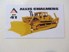 ALLIS CHALMERS HD41 Fridge/toolbox magnet