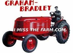 "GRAHAM BRADLEY ""RED"" Tractor tee shirt"