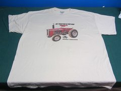 "MASSEY FERGUSON 275 ""MY TRACTOR IS ONE BAD MF"" TEE SHIRT"