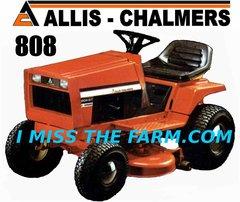 ALLIS CHALMERS 808 TEE SHIRT