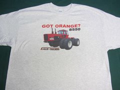 ALLIS CHALMERS 8550 (GOT ORANGE) Tractor tee shirt