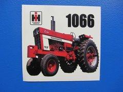 IH 1066 Bumper sticker