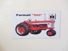 FARMALL 560 Fridge/toolbox magnet