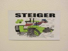 "STEIGER ""WILD STEIGER"" Fridge/toolbox magnet"