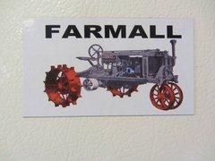 """FARMALL """"THE FARMALL"""" Fridge/toolbox magnet"""