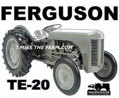 FERGUSON TE-20 (image #2) tee shirt