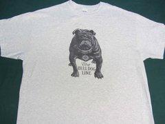 """AVERY BULL DOG """"TEETH TALK"""" TEE SHIRT"""