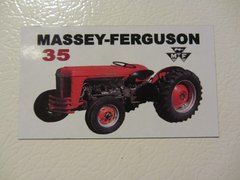 MASSEY FERGUSON 35 Fridge/toolbox magnet