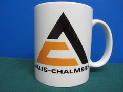 ALLIS CHALMERS TRIANGLE LOGO COFFEE MUG