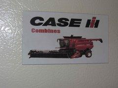 CASE IH COMBINES Fridge/toolbox magnet
