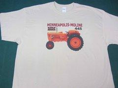 MINNEAPOLIS MOLINE 445 TEE SHIRT