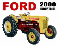 FORD 2000 INDUSTRIAL TEE SHIRT