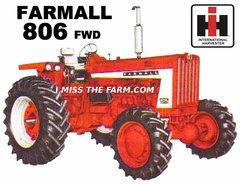FARMALL 806 FWD TEE SHIRT