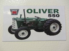 OLIVER 550 (IMAGE #1) Fridge/toolbox magnet