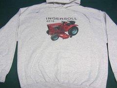 INGERSOLL 4016 HOODED SWEATSHIRT