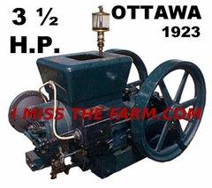 OTTAWA 3 1/2 HP ENGINE TEE SHIRT