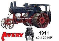 """AVERY """"1911 40-120"""" HOODED SWEATSHIRT"""
