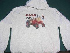 CASE 930 CK HOODED SWEATSHIRT