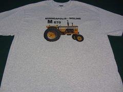 MINNEAPOLIS MOLINE M670 TEE SHIRT