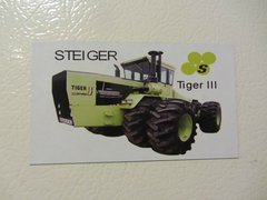STEIGER TIGER III Fridge/toolbox magnet
