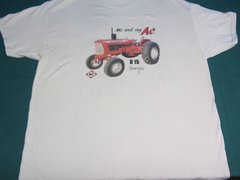 """ALLIS CHALMERS D15 SERIES II """"ME AND MY AC"""" TEE SHIRT"""