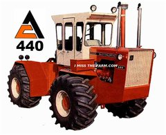ALLIS CHALMERS 440 SWEATSHIRT
