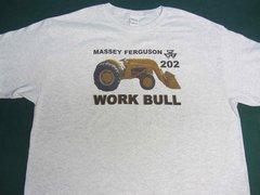MASSEY FERGUSON 202 WORK BULL TEE SHIRT