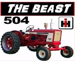 """FARMALL 504 """"THE BEAST"""" TEE SHIRT"""