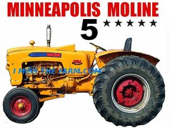 MINNEAPOLIS MOLINE 5 STAR TEE SHIRT