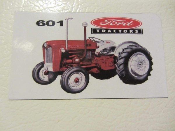 601 Ford Tractor Bumper : Ford fridge toolbox magnet refidgerator