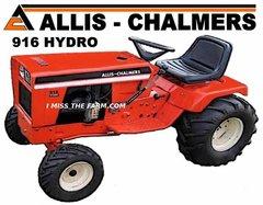 ALLIS CHALMERS 916 HYDRO TEE SHIRT