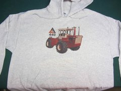 ALLIS CHALMERS 440 HOODED SWEATSHIRT