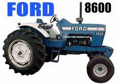 FORD 8600 HOODED SWEATSHIRT