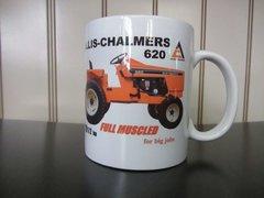 "ALLIS CHALMERS 620 ""FULL MUSCLED"" COFFEE MUG"