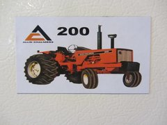 ALLIS CHALMERS 200 OPEN STATION Fridge/toolbox magnet