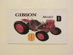 GIBSON MODEL D Fridge/toolbox magnet