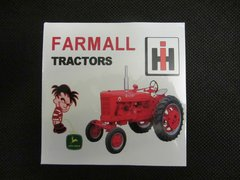 FARMALL TRACTORS Bumper sticker