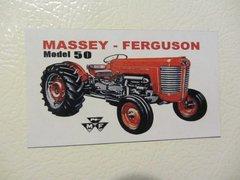 MASSEY FERGUSON 50 Fridge/toolbox magnet