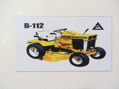 ALLIS CHALMERS B-112 Fridge/toolbox magnet