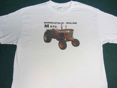 MINNEAPOLIS MOLINE M670 LP Tractor tee shirt