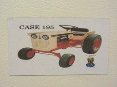 CASE 195 Fridge/toolbox magnet