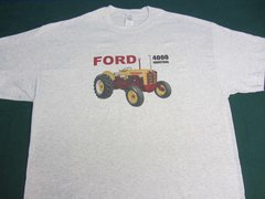 FORD 4000 INDUSTRIAL TEE SHIRT