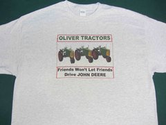 "OLIVER ""FRIENDS WON'T LET FRIENDS DRIVE JD"" TEE SHIRT"
