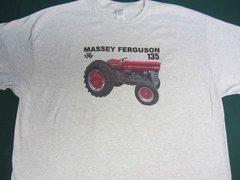 MASSEY FERGUSON 135 (image #2) TEE SHIRT