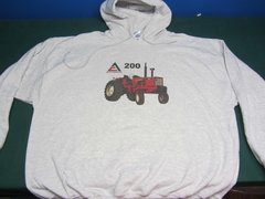 ALLIS CHALMERS 200 HOODED SWEATSHIRT
