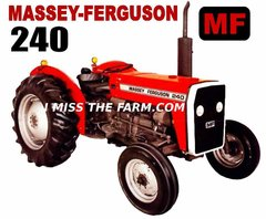 MASSEY FERGUSON 240 Hooded Sweatshirt