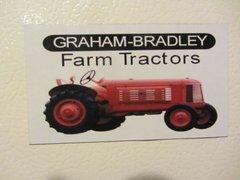 GRAHAM BRADLEY WF Fridge/toolbox magnet